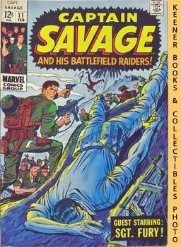 Image for Captain Savage and His Battlefield Raiders! (Death Of A Leatherneck! -- Vol. 1 No. 11, February 1969)