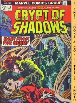 Image for Crypt Of Shadows (The Ghost Comes Back! -- Vol. 1 No. 13, October 1974)