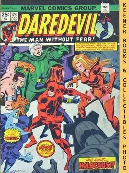 Image for Daredevil - The Man Without Fear (Holocaust In The Halls Of Hydra! -- Vol. 1 No. 123, July 1975)