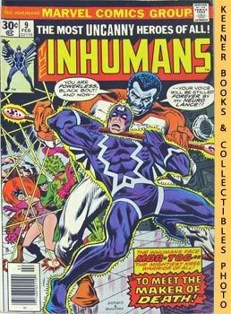 Image for The Inhumans : To Meet The Maker Of Death! -- Vol. 1 No. 9, February 1977