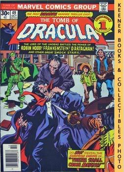 Image for The Tomb Of Dracula (And With The Word There Shall Come Death! -- Vol. 1 No. 49, October 1976)