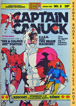 Image for Captain Canuck (C. I. S. O. Faces The Brain Machine! -- Vol. 1 No. 2, 1975)