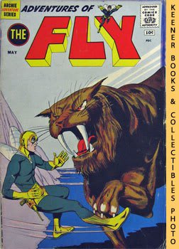 Image for Adventures Of The Fly (The Cyclops From Space -- Vol. 1 No. 12, May 1961): Archie Adventure Series