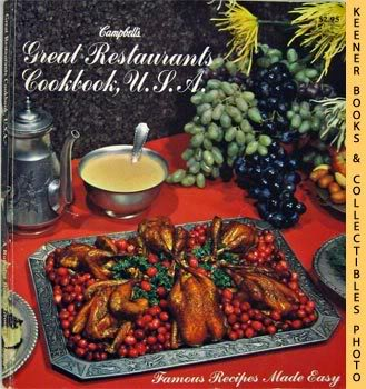 Image for Campbell's Great Restaurants Cookbook, U.S.A. (Famous Recipes Made Easy)
