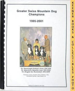 Image for Greater Swiss Mountain Dog Champions, 1995-2001