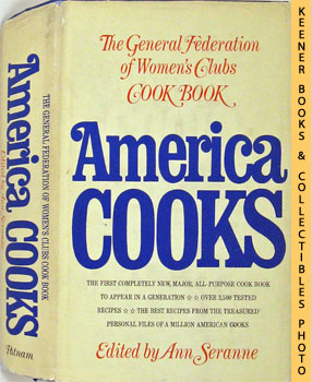Image for America Cooks (The General Federation Of Women's Clubs Cook Book)