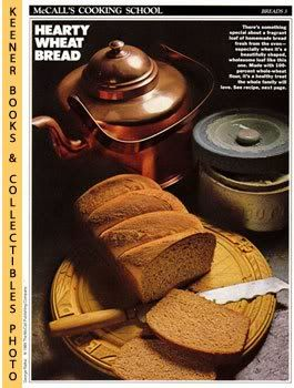 Image for McCall's Cooking School Recipe Card: Breads 3 - 100-Percent Whole Wheat Bread (Replacement McCall's Recipage or Recipe Card For 3-Ring Binders): McCall's Cooking School Cookbook Series