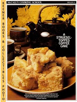 Image for McCall's Cooking School Recipe Card: Breads 32 - Sunday Special Coffee Cake (Replacement McCall's Recipage or Recipe Card For 3-Ring Binders)