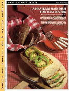 Image for McCall's Cooking School Recipe Card: Fish, Seafood 14 - Tuna Loaf (Replacement McCall's Recipage or Recipe Card For 3-Ring Binders): McCall's Cooking School Cookbook Series