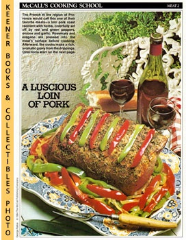 Image for McCall's Cooking School Recipe Card: Meat 2 - Roast Pork With Herbs (Replacement McCall's Recipage or Recipe Card For 3-Ring Binders)