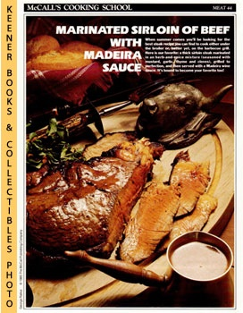 Image for McCall's Cooking School Recipe Card: Meat 44 - Spiced Sirloin Steak Madeira (Replacement McCall's Recipage or Recipe Card For 3-Ring Binders): McCall's Cooking School Cookbook Series