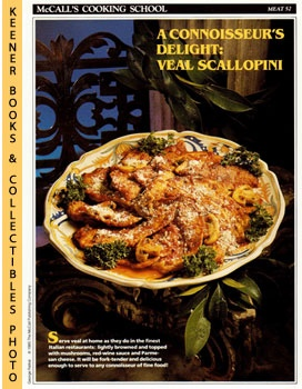 Image for McCall's Cooking School Recipe Card: Meat 52 - Roman Veal Scallopini (Replacement McCall's Recipage or Recipe Card For 3-Ring Binders): McCall's Cooking School Cookbook Series