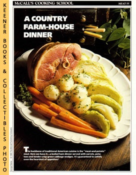 Image for McCall's Cooking School Recipe Card: Meat 55 - Boiled Ham Dinner (Replacement McCall's Recipage or Recipe Card For 3-Ring Binders): McCall's Cooking School Cookbook Series