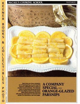 Image for McCall's Cooking School Recipe Card: Vegetables 5 - Orange-Glazed Parsnips (Replacement McCall's Recipage or Recipe Card For 3-Ring Binders)