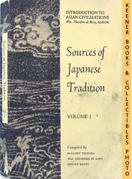 Image for Sources Of Japanese Tradition, Volume 1: Introduction To Asian Civilizations Series