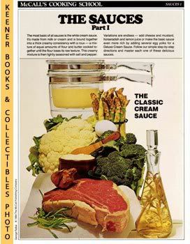 Image for McCall's Cooking School Recipe Card: Sauces 1 - Perfect Sauces (Replacement McCall's Recipage or Recipe Card For 3-Ring Binders): McCall's Cooking School Cookbook Series