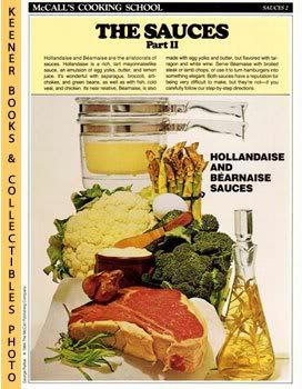 Image for McCall's Cooking School Recipe Card: Sauces 2 - The Difficult Sauces (Replacement McCall's Recipage or Recipe Card For 3-Ring Binders): McCall's Cooking School Cookbook Series