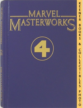 Image for Marvel Masterworks Presents The Fantastic - 4 - Four (Volume 21 Nos. 31 - 40 & Annual No. 2)