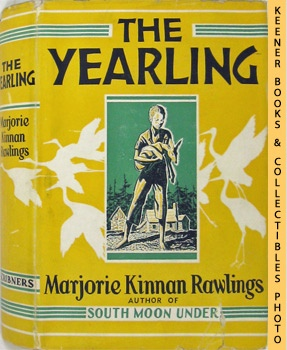 Image for The Yearling In Beautiful Matching - Labeled Cloth Clamshell Box