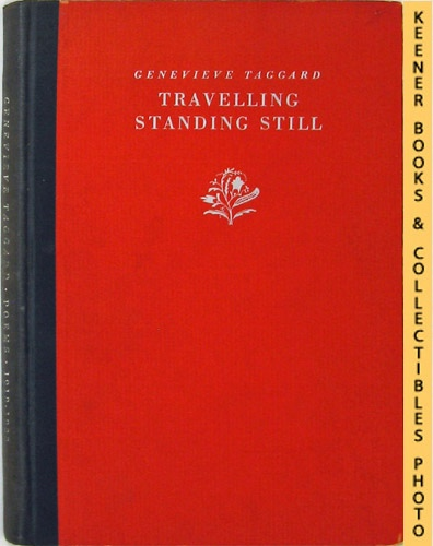 Image for Travelling Standing Still - Poems 1918-1928