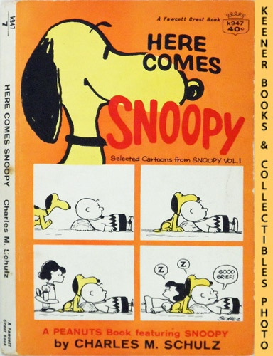 Image for Here Comes Snoopy : Selected Cartoons From Snoopy, Volume 1