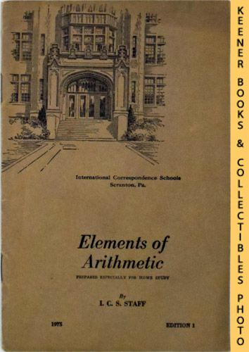 Image for Elements of Arithmetic