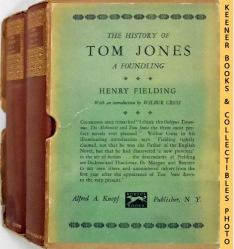 Image for The History Of Tom Jones - A Foundling : In Two Volumes With Slipcase