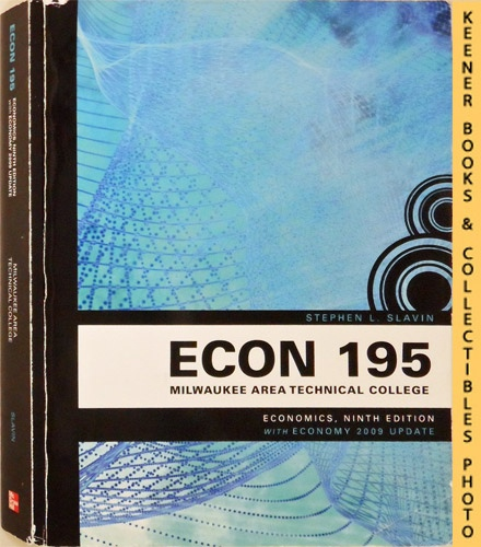 Image for ECON 195 - Milwaukee Area Technical College [MATC] - Economics : Ninth Edition With Economy 2009