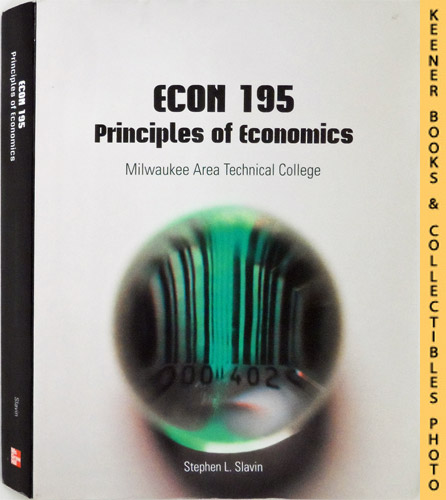 Image for ECON 195 - Milwaukee Area Technical College [MATC] - Principles of Economics  : 10th Edition