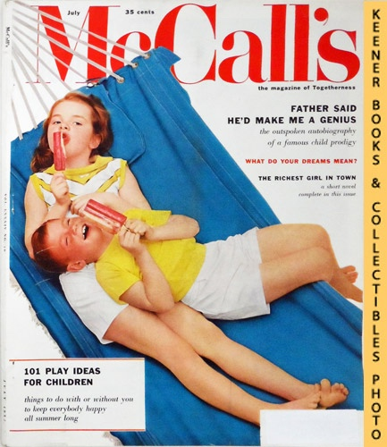 Image for McCall's Magazine: July 1957 Vol. LXXXIV, No. 10 Issue : The Magazine Of Togetherness
