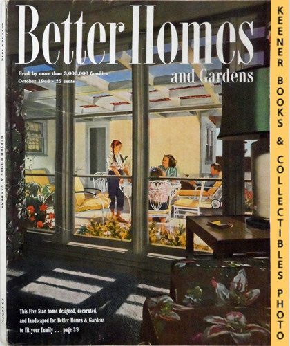 Image for Better Homes And Gardens Magazine: October 1948, Vol. 27 Number 2 Issue