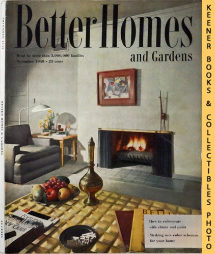 Image for Better Homes And Gardens Magazine: November 1948, Vol. 27 Number 3 Issue