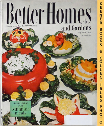 Image for Better Homes And Gardens Magazine: July 1950, Vol. 28 Number 11 Issue
