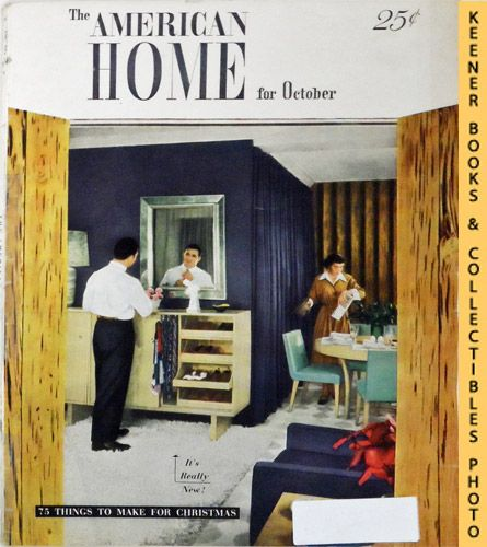 Image for The American Home Magazine: October 1948, Vol. XL No. 5 Issue