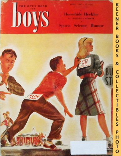 Image for The Open Road For Boys Magazine : April 1947, Vol. XXIX No. 4 Issue