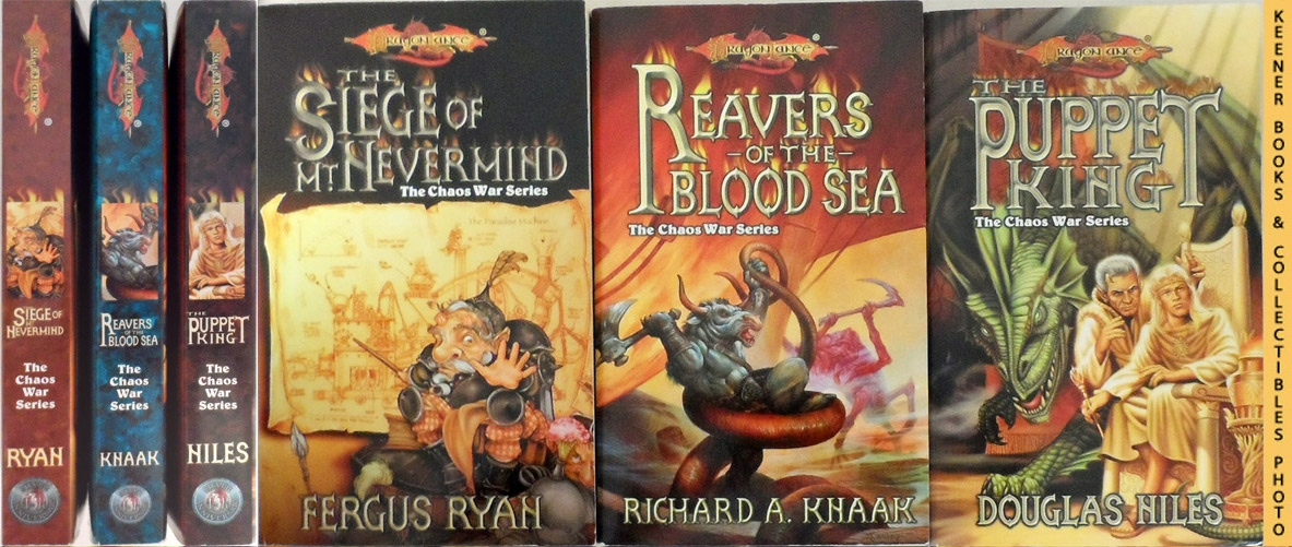 Image for DragonLance, The Chaos War Series, Books 4-6 : The Puppet King / Reavers Of The Blood Sea / The Siege Of Mt. Nevermind