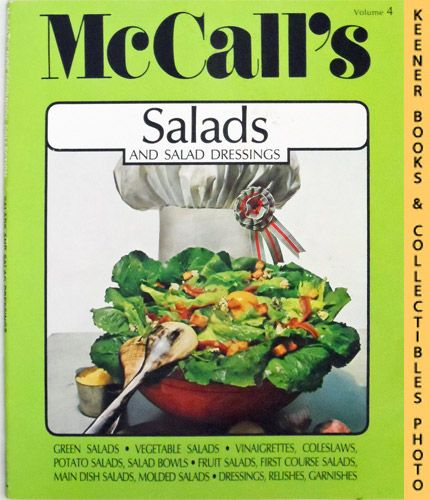 Image for McCall's Salads And Salad Dressings, Vol. 4: McCall's New Cookbook Collection Series