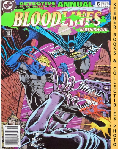Image for Detective Comics Annual 6: Bloodlines Earthplague : #6 Annual 1993 Issue