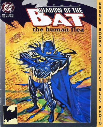 Image for Batman, Shadow of the Bat - The Human Flea : #11 April 1993 Issue