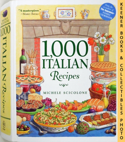 Image for 1,000 Italian Recipes