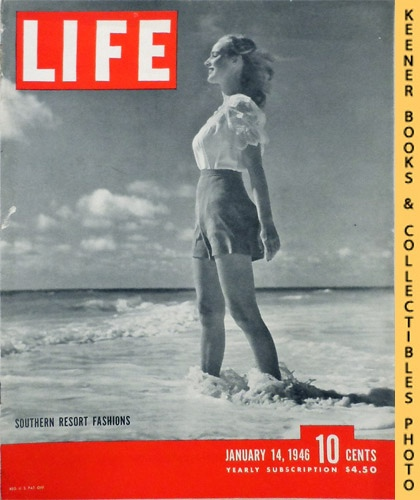 Image for Life Magazine January 14, 1946 - Volume 20, Number 2 - Cover: Southern Resort Fashions