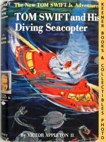 Image for Tom Swift And His Diving Seacopter : The New Tom Swift Jr. Adventures #7