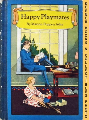 Image for Happy Playmates : Outline Pictures for Coloring with Stories for Children