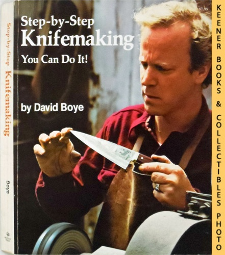 Image for Step-By-Step Knifemaking : You Can Do It!