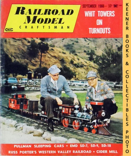 Image for Railroad Model Craftsman Magazine, September 1966 (Vol. 35, No. 4)