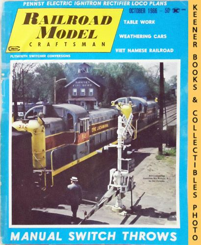 Image for Railroad Model Craftsman Magazine, October 1966 (Vol. 35, No. 5)