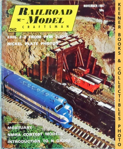 Image for Railroad Model Craftsman Magazine, November 1967 (Vol. 36, No. 6)