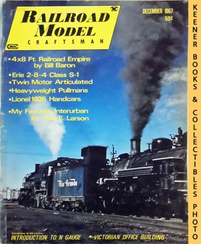 Image for Railroad Model Craftsman Magazine, December 1967 (Vol. 36, No. 7)