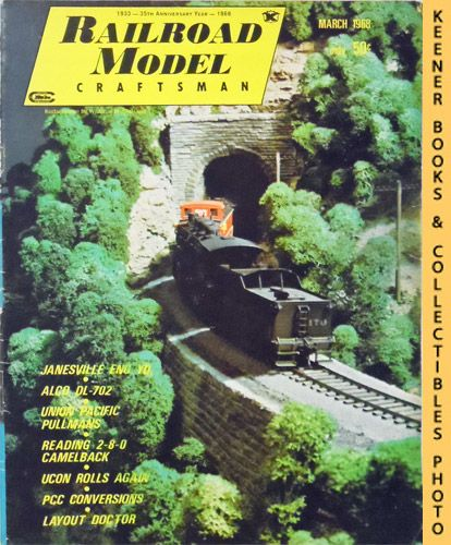 Image for Railroad Model Craftsman Magazine, March 1968 (Vol. 36, No. 10)