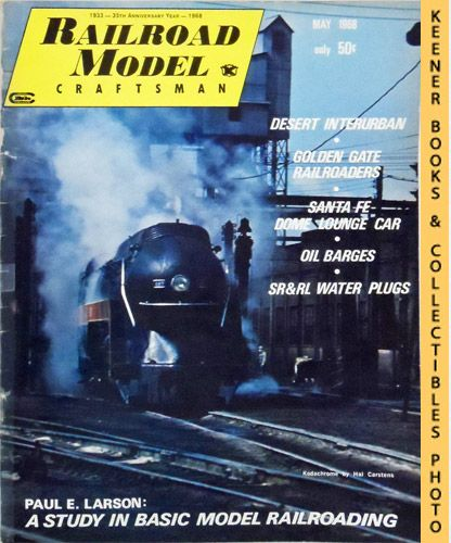 Image for Railroad Model Craftsman Magazine, May 1968 (Vol. 36, No. 12)